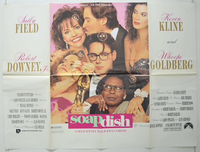 Soapdish - Original Cinema Movie Poster From pastposters.com British Quad  Posters and US 1-Sheet Posters