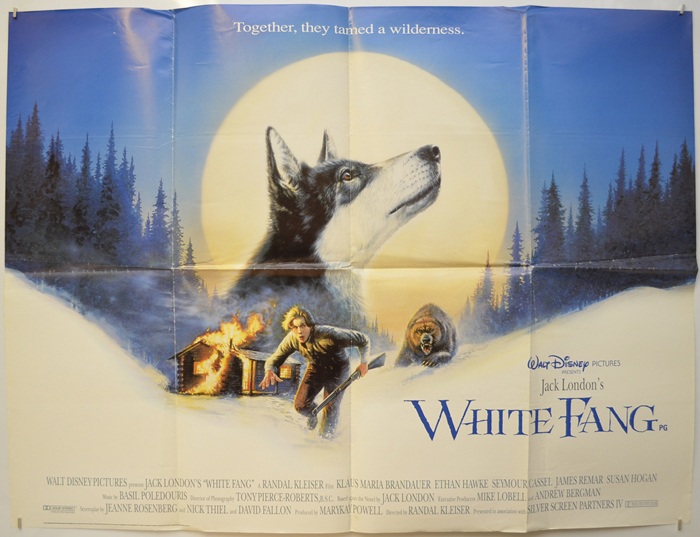 White Fang - Original Cinema Movie Poster From pastposters.com ...
