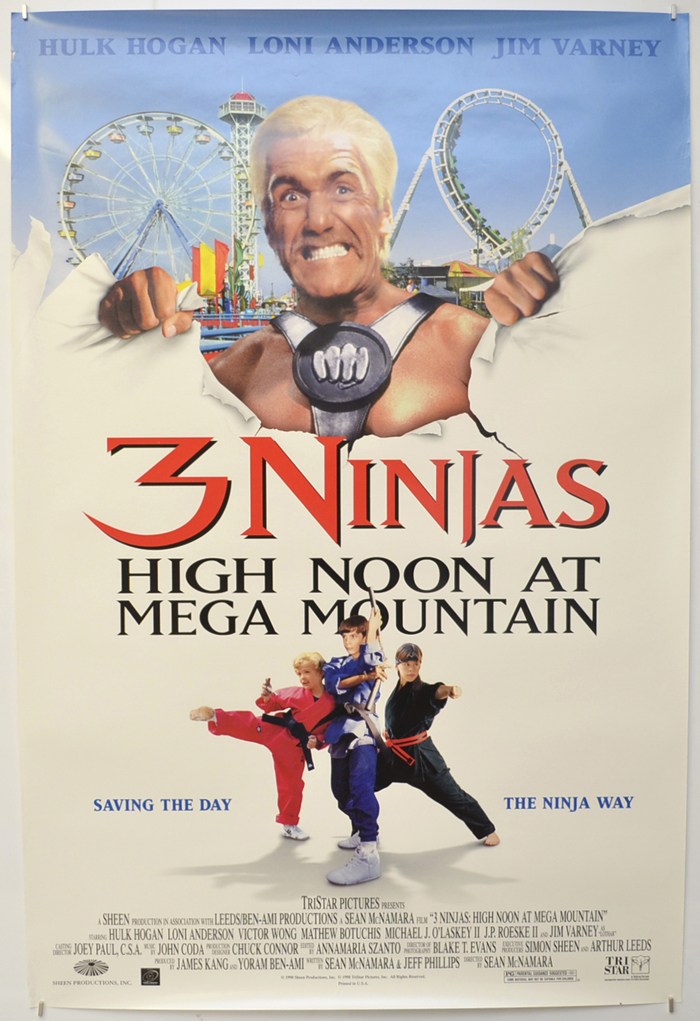 3 Ninjas - High Noon At Mega Mountain