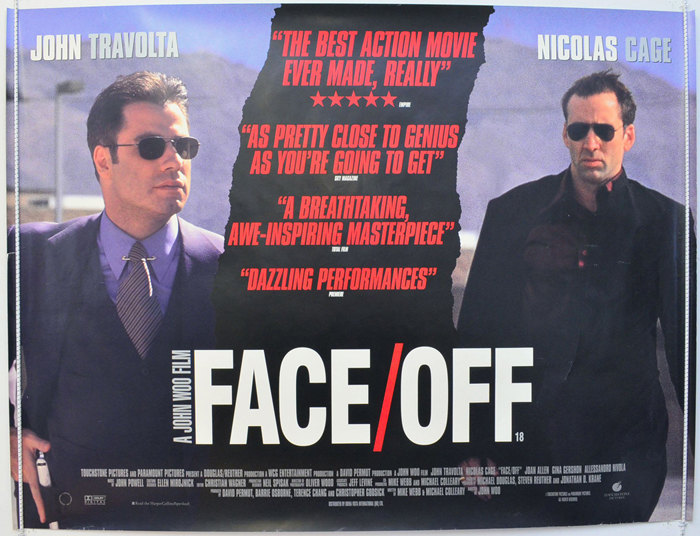 Face Off - Original Cinema Movie Poster From pastposters.com ...