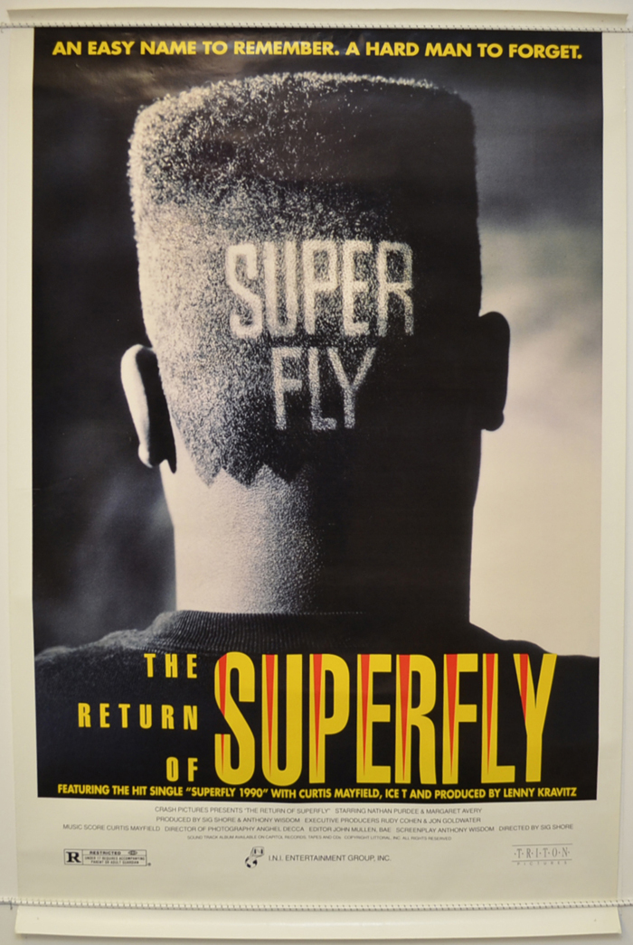 36d4485aff7 Return Of Superfly (The) - Original Cinema Movie Poster From ...