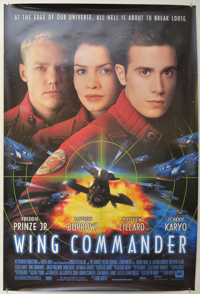 Wing Commander Original Cinema Movie Poster From Pastposters Com