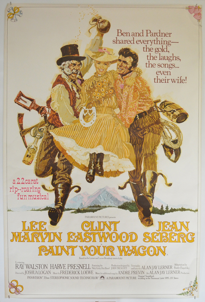 Paint Your Wagon <p><i> (British 4 Sheet Poster) </i></p>