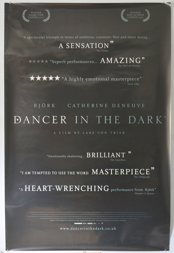 Dancer In The Dark <p><i> (British 4 Sheet Poster) </i></p>