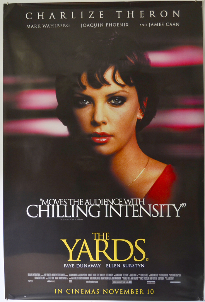Yards (The) <p><i> (British 4 Sheet Poster - Charlize Theron Version) </i></p>