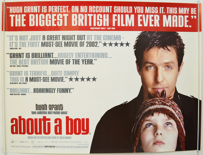 About A Boy <p><i> (Reviews Version) </i></p> - Original Cinema ...