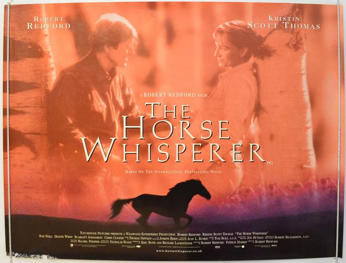 Horse Whisperer (The) - Original Cinema Movie Poster From ...