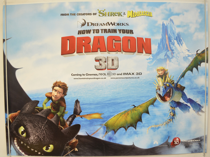 How To Train Your Dragon <p><i> (Teaser / Advance Version) </i></P ...