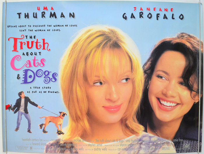 Truth About Cats And Dogs (The) - Original Cinema Movie Poster ...