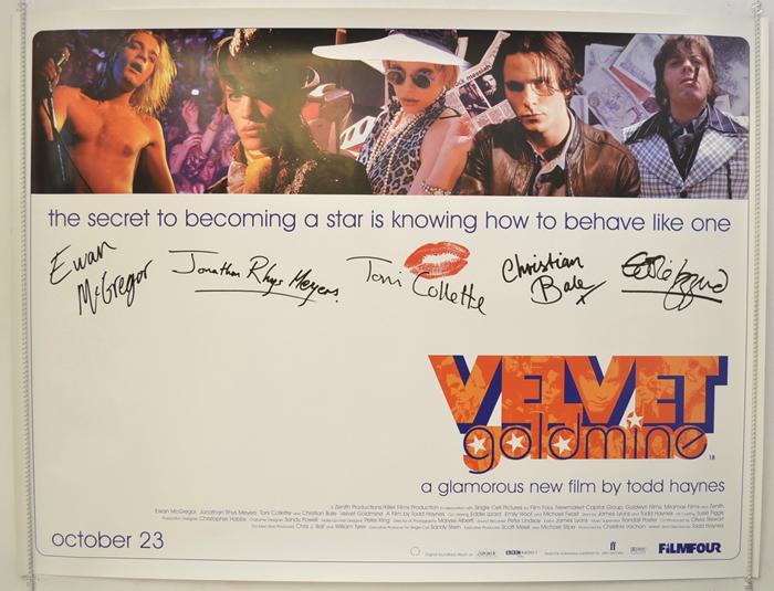 Velvet Goldmine - Original Cinema Movie Poster From pastposters ...