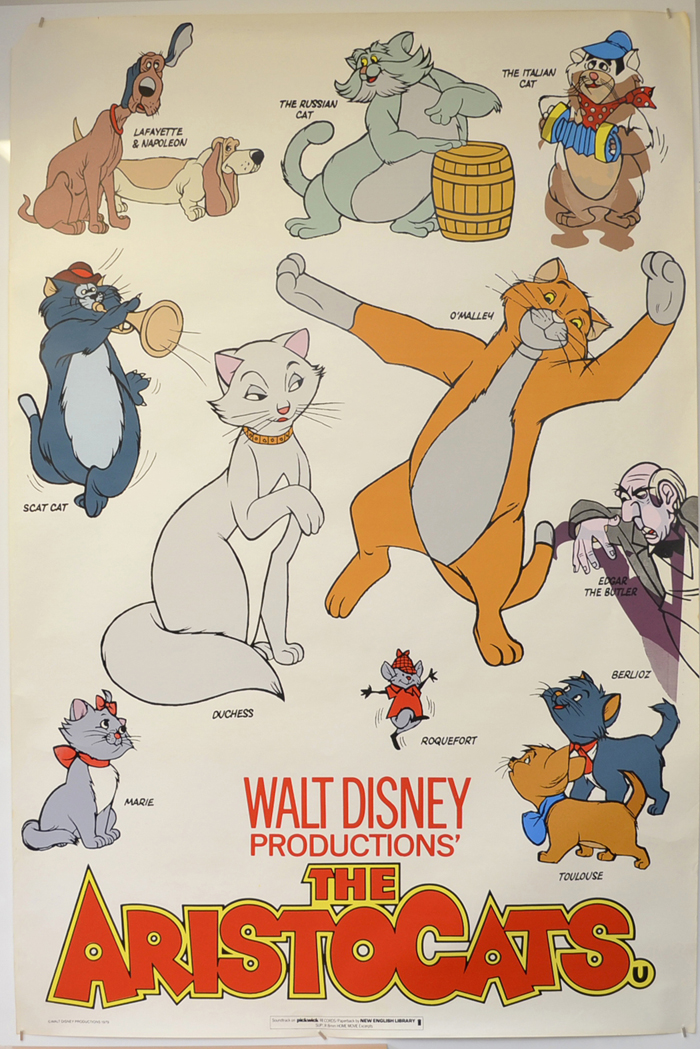 Aristocats (The) <p><i> (British 4 Sheet Poster) </i></p>