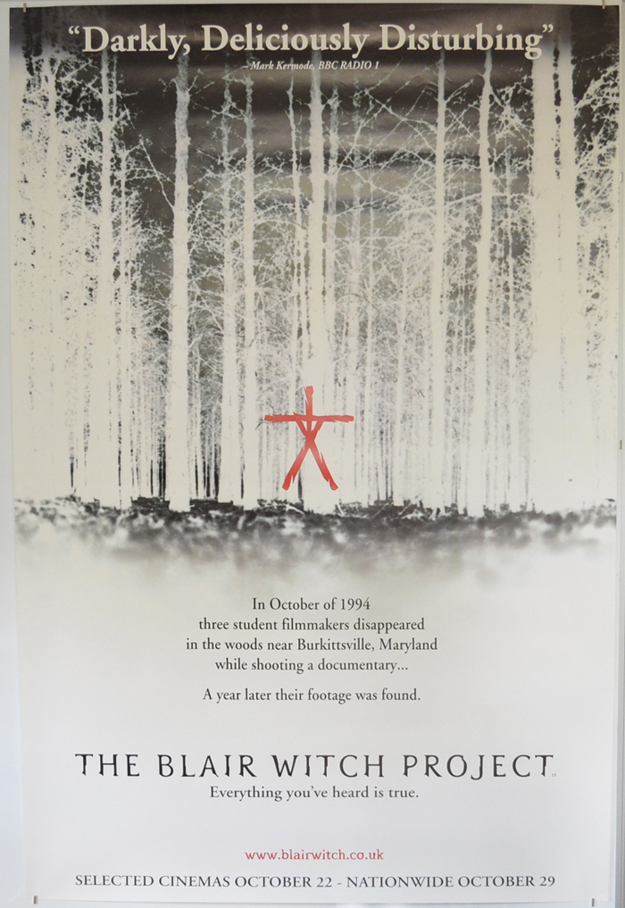 Blair Witch Project (The) <p><i> (British 4 Sheet Poster) </i></p>
