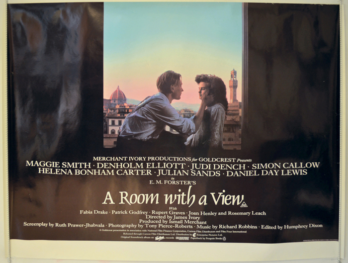A Room With A View - Original Cinema Movie Poster From pastposters ...