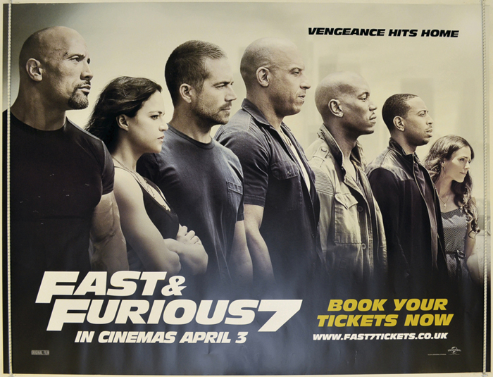 Fast And Furious 7 <p><i> (Teaser / Advance Version) </i></p ...