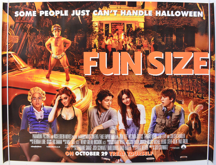 Fun Size - Original Cinema Movie Poster From pastposters ...