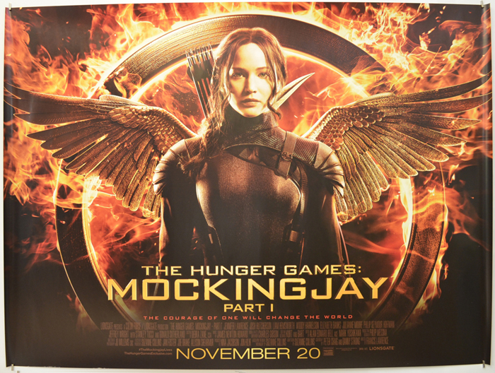 Hunger Games: Mockingjay - Part 1 - Original Cinema Movie Poster ...