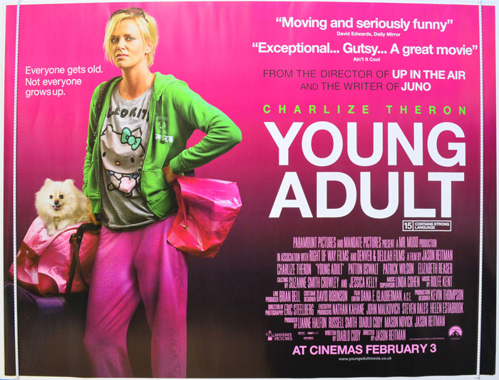 Young Adult - Original Cinema Movie Poster From pastposters.com ...