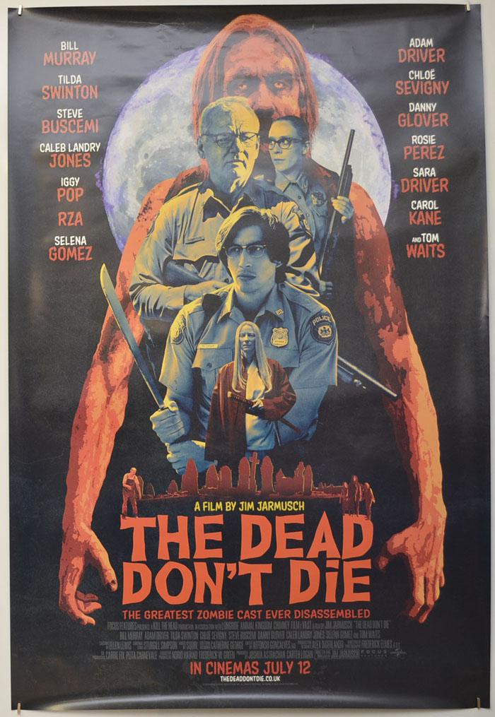 THE DEAD DON/'T DIE HORROR MOVIE POSTER FILM A4 A3 A2 A1 PRINT ART CINEMA