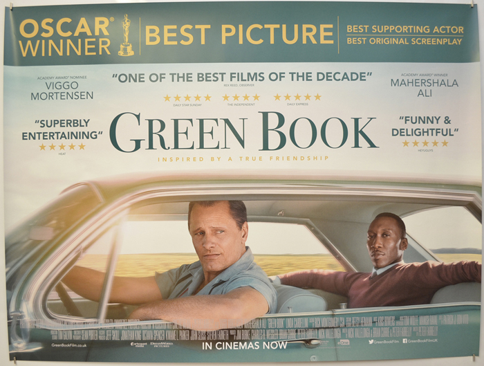 Green Book - Original Cinema Movie Poster From pastposters.com British Quad  Posters and US 1-Sheet Posters