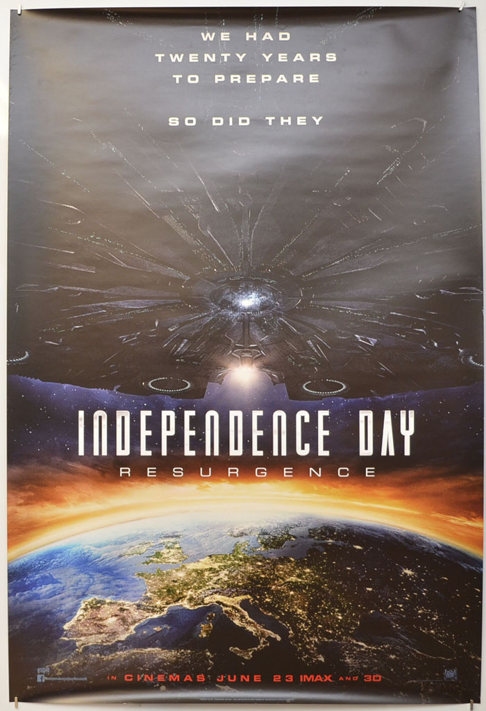 Independence Day: Resurgence <p><i> (Teaser / Advance Version) </i></p>