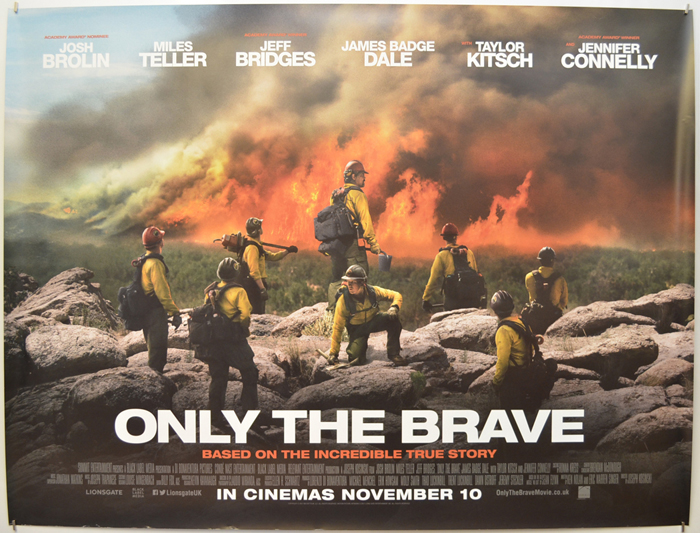 Only The Brave - Original Cinema Movie Poster From pastposters.com ...