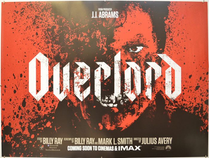 Overlord - Original Cinema Movie Poster From pastposters.com ...