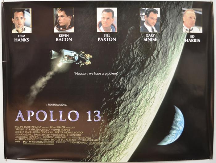 Apollo 13 - Original Cinema Movie Poster From pastposters com