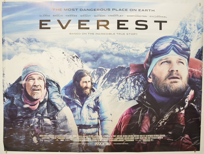 Everest - Original Cinema Movie Poster From pastposters.com ...