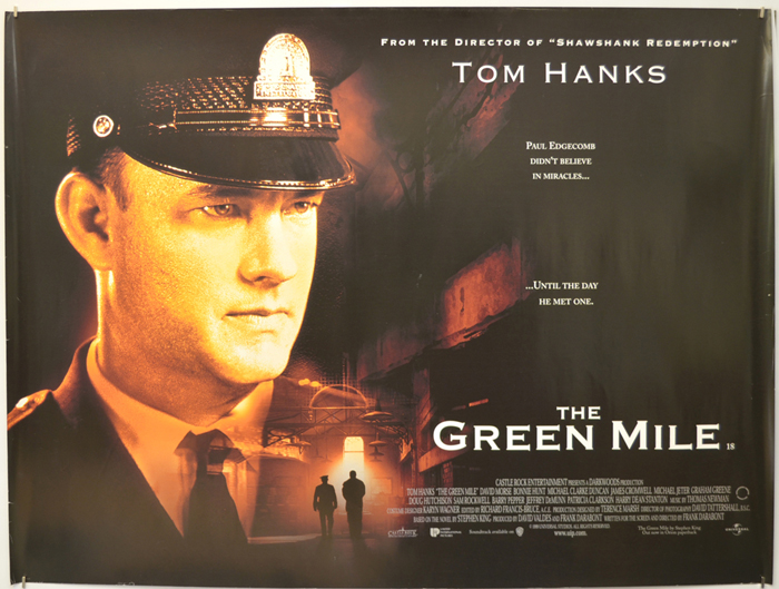 Green Mile (The) - Original Cinema Movie Poster From pastposters ...