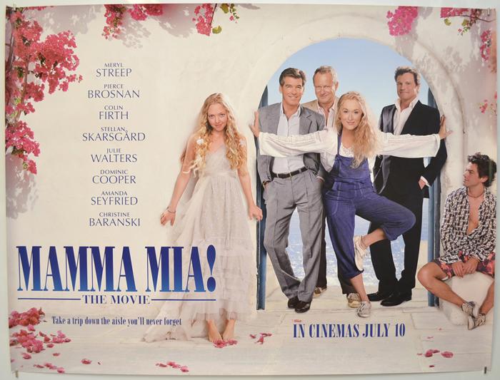 Mamma Mia - Original Cinema Movie Poster From pastposters.com ...