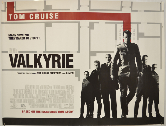Valkyrie - Original Cinema Movie Poster From pastposters.com ...