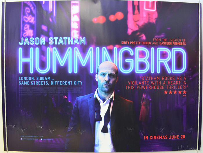 Hummingbird - Original Cinema Movie Poster From pastposters.com ...