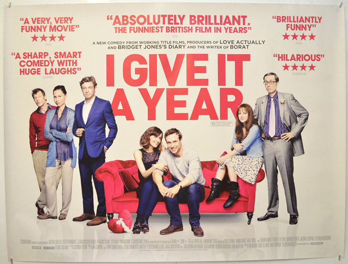 I Give It A Year - Original Movie Poster