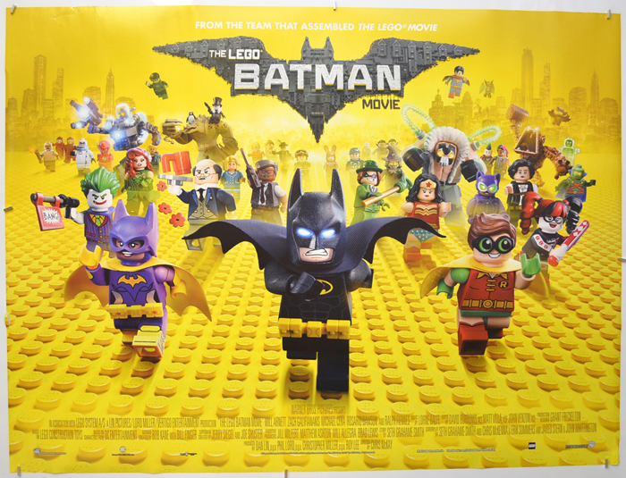 Lego Batman Movie (The) - Original Cinema Movie Poster From ...