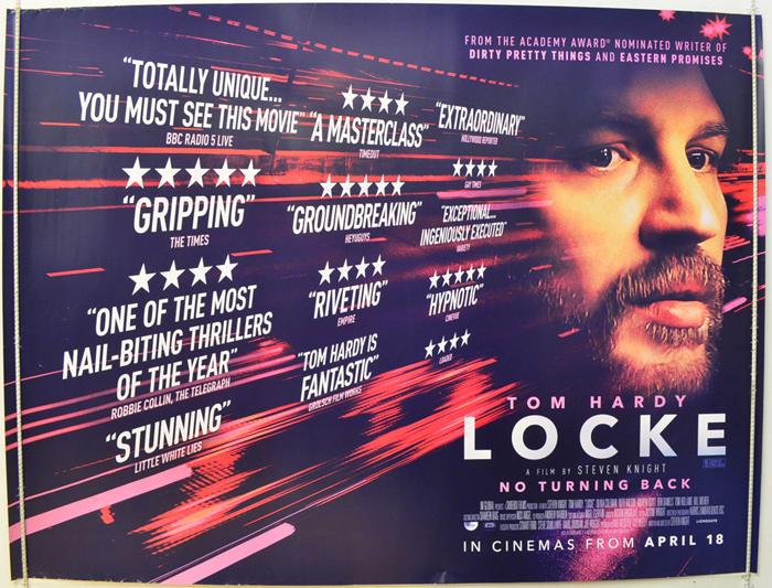 Locke - Original Cinema Movie Poster From pastposters.com British ...