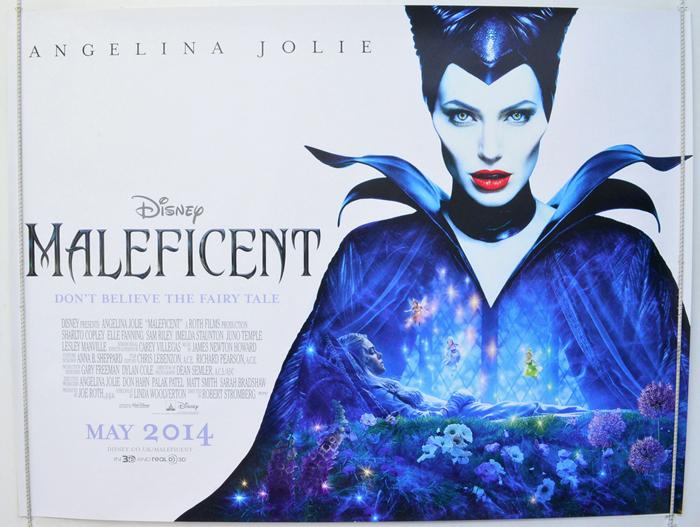 Maleficent - Original Cinema Movie Poster From pastposters.com ...