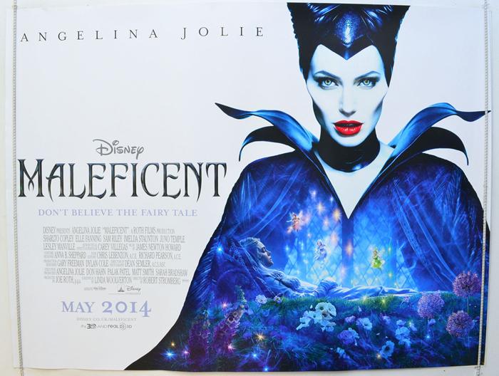 Maleficent Original Cinema Movie Poster From Pastposters