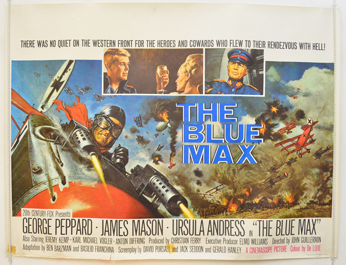 Blue Max (The) - Original Cinema Movie Poster From pastposters.com ...