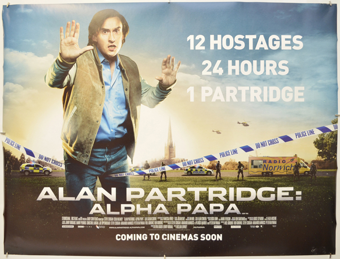 Alan Partridge : Alpha Papa - Original Cinema Movie Poster From ...