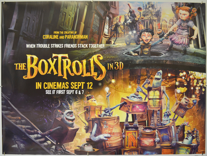 Boxtrolls (The) <p><i> (Teaser / Advance Version) </i></p ...