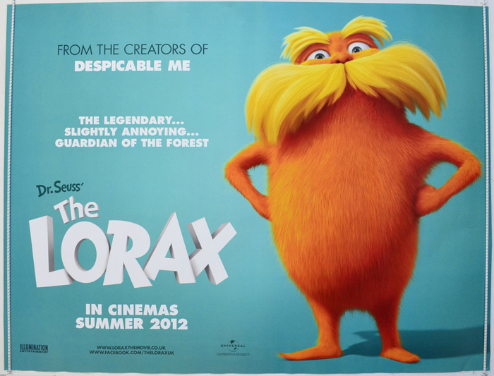Dr. Seuss' The Lorax <p><i> (Teaser / Advance Version) </i></p ...