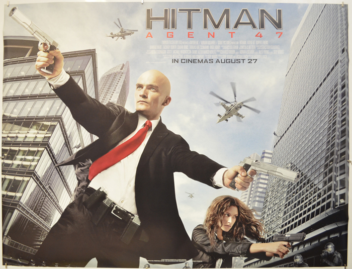 Hitman Agent 47 Original Cinema Movie Poster From Pastposters