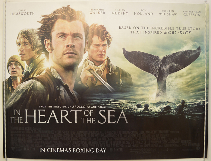 In The Heart Of The Sea - Original Cinema Movie Poster From ...