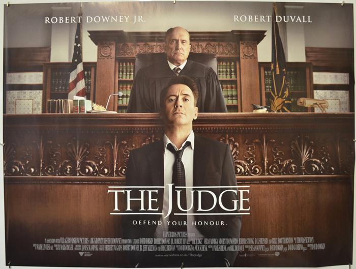 Judge (The) - Original Cinema Movie Poster From pastposters.com ...