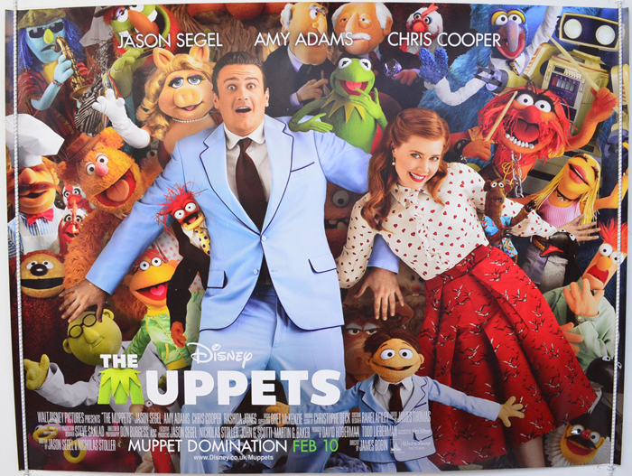 Muppets (The) - Original Cinema Movie Poster From pastposters.com ...