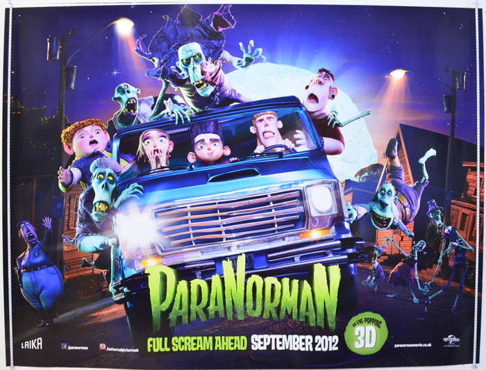 Paranorman - Original Cinema Movie Poster From pastposters.com ...