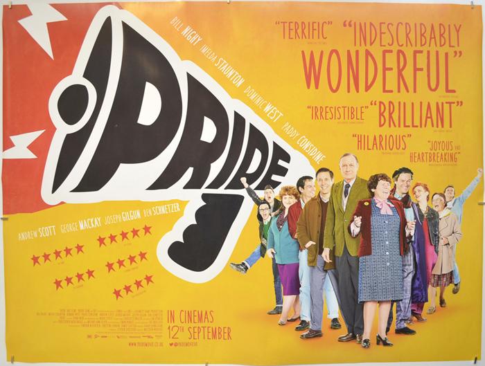 Pride - Original Cinema Movie Poster From pastposters.com British ...