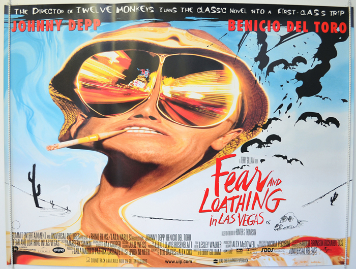 Fear And Loathing In Las Vegas - Original Cinema Movie Poster From ...