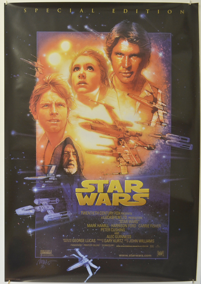Star Wars Episode Iv A New Hope P I 1997 Special Edition Poster I P Original Cinema Movie Poster From Pastposters Com British Quad Posters And Us 1 Sheet Posters
