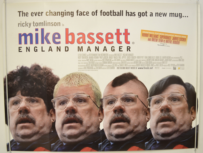 Mike Bassett : England Manager - Original Cinema Movie Poster From ...